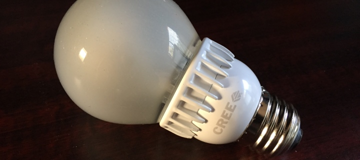 REVIEW: Cree 60w LED Light Bulb