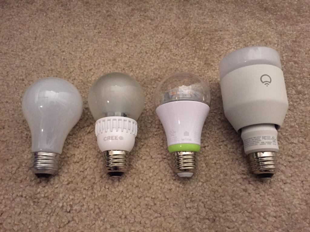 Bulb Size Comparison