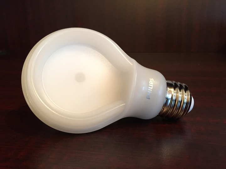 REVIEW: Philips SlimStyle LED 60w Replacement Light Bulb ...