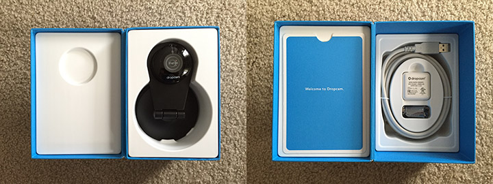 Inside the Dropcam Pro Box