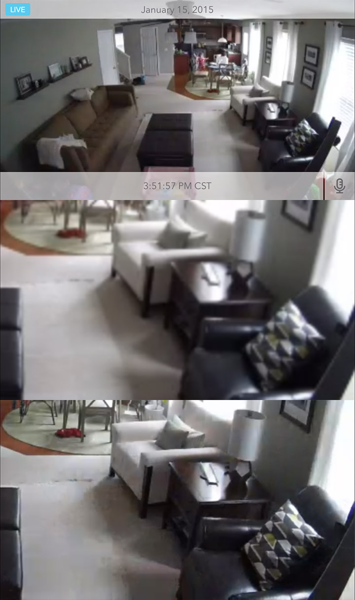 A Sample of the Dropcam's Zoom
