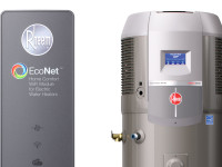 First Look: Rheem Hybrid Heat Pump Water Heater with EcoNet