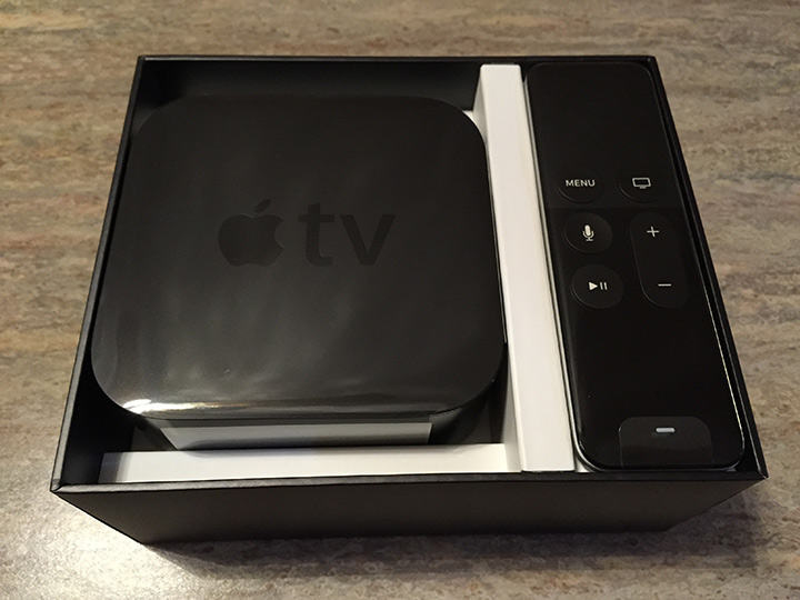 Unboxing the New Apple TV