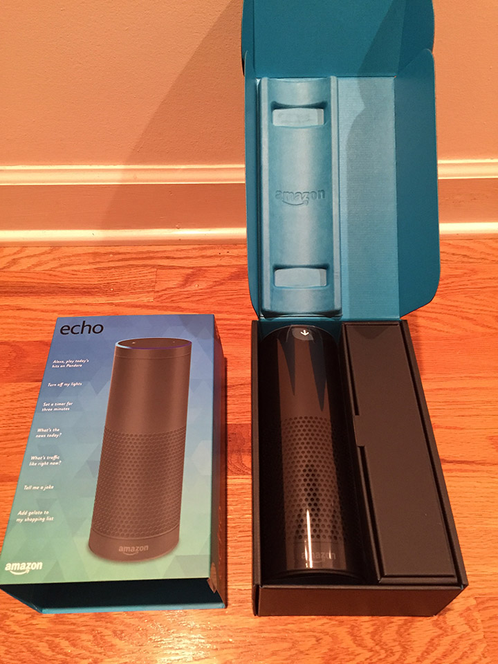 Unboxing the Echo