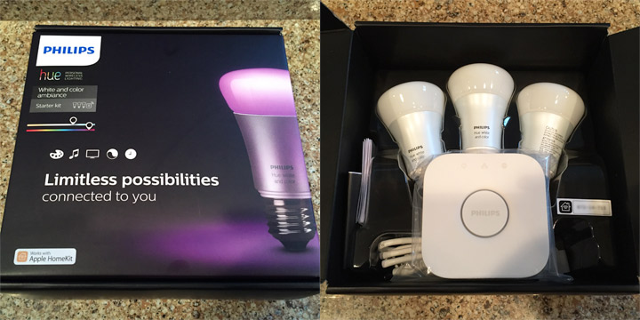 Unboxing the Hue Starter Kit