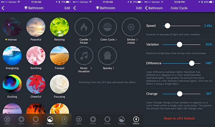 More LIFX App Controls