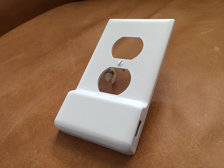 Front of the SnapPower Charger