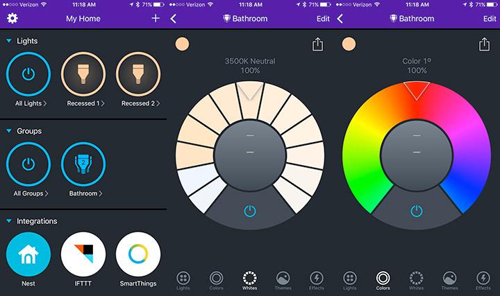LIFX App Controls