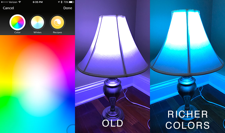 Philips Hue - Light Blue