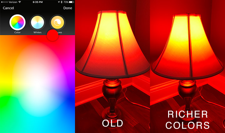 Philips Hue - Red