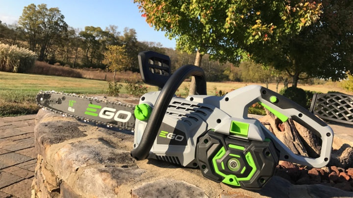 REVIEW: EGO Power+ 56v 16″ Chainsaw