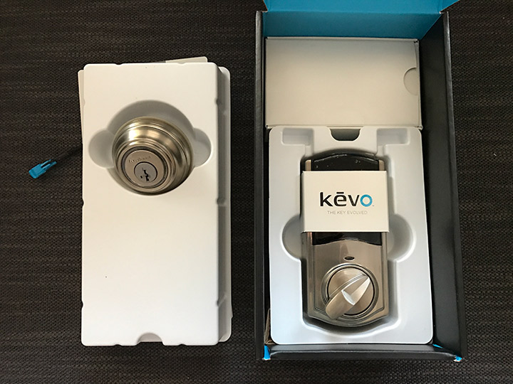 Unboxing the Kevo 2.0