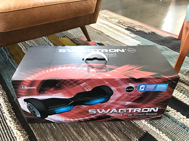 The SwagTron T3 box