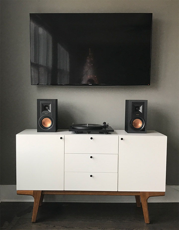 Klipsch in Living Room