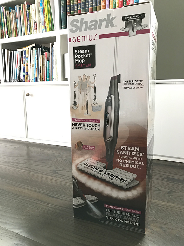 Review Shark Genius Steam Mop At Home In The Future