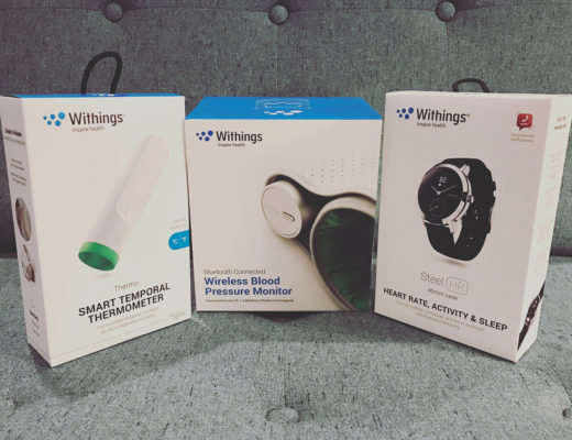 QUICK REVIEWS: Withings Thermo, Blood Pressure Monitor, and Steel HR
