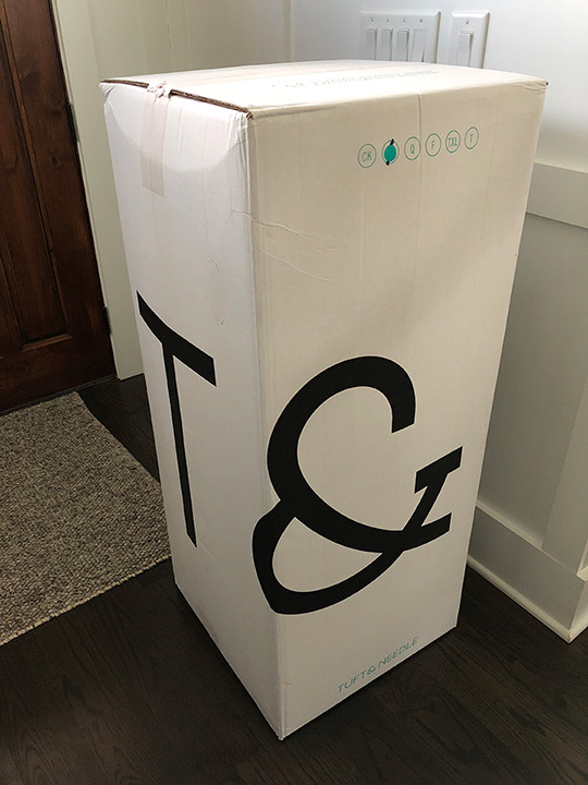 Review Tuft Amp Needle Mint Mattress And Amp Pillow At Home