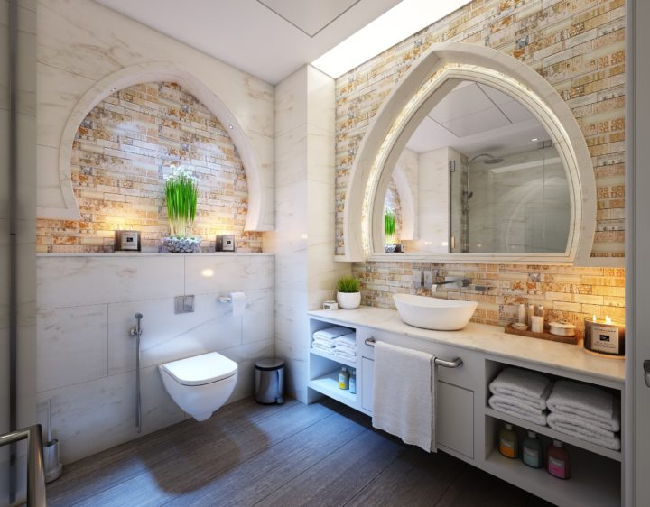 Bring a Brighter Ambience to Your Bathroom